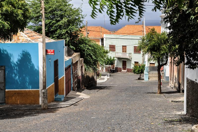 São Filipe, Fogo, Cabo Verde fotos de stock
