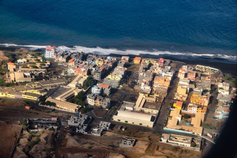 São Filipe, Fogo, Capo Verde fotografia stock libera da diritti