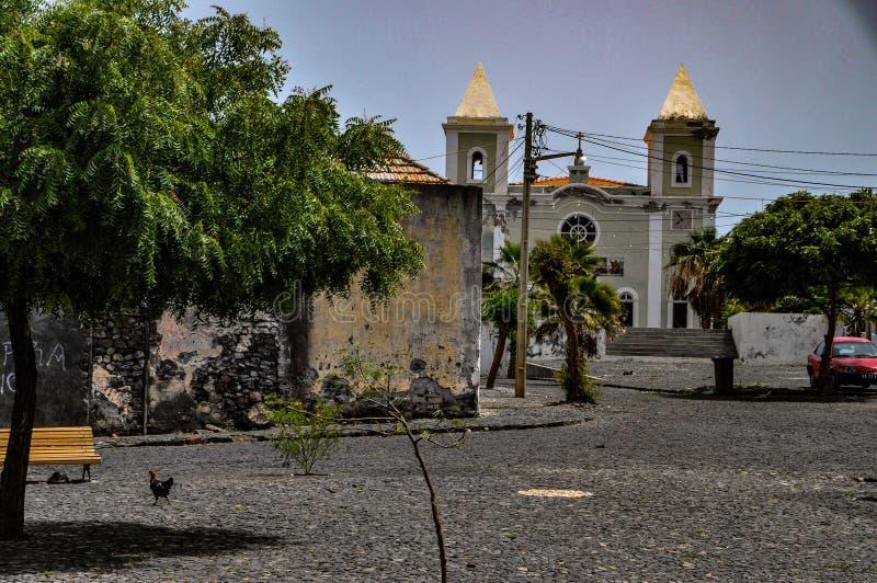 São Filipe, Fogo, Kap-Verde stockbild