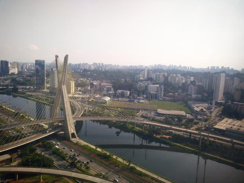 São Paulo Bridge immagini stock libere da diritti