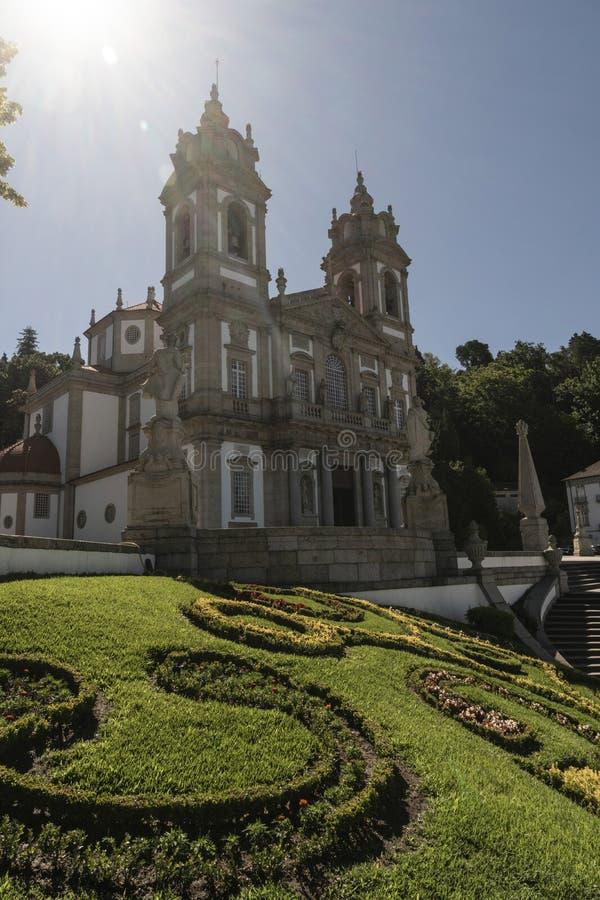 Sé de Braga, Portugalia ` s stara katedra, lokalizować w mieście o fotografia royalty free