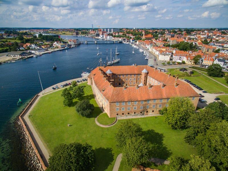 Sønderborg槽孔天线  库存照片