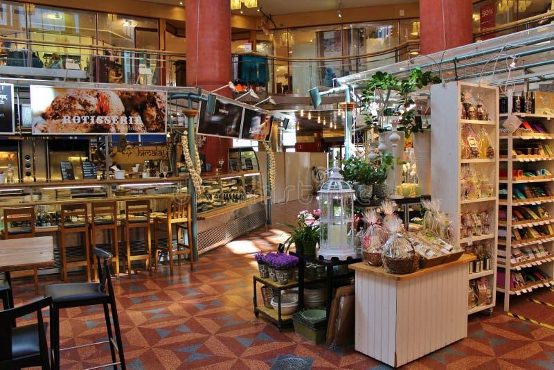 Söderhallarna en Estocolmo foto de archivo libre de regalías