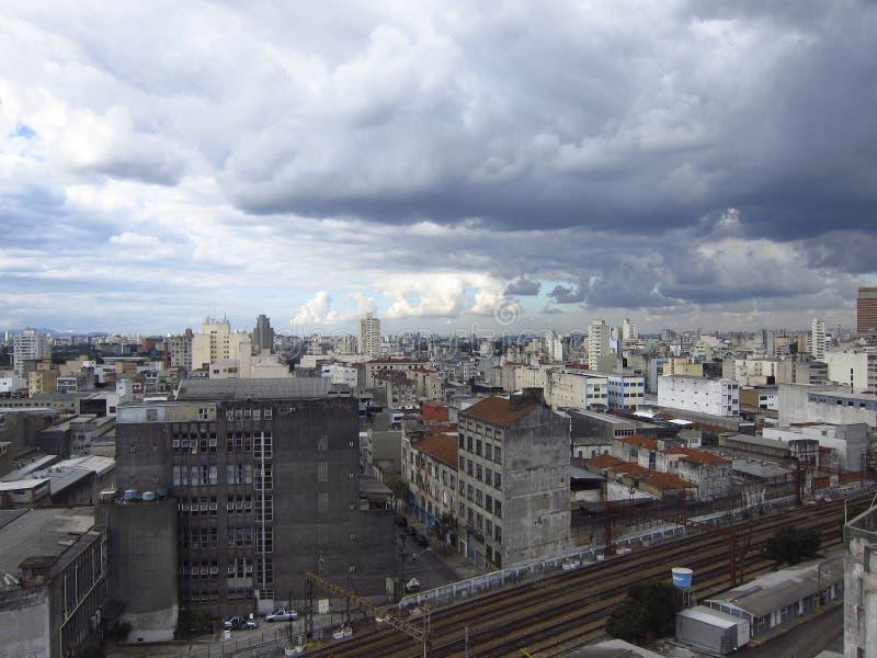 São Paulo Cityline stock foto