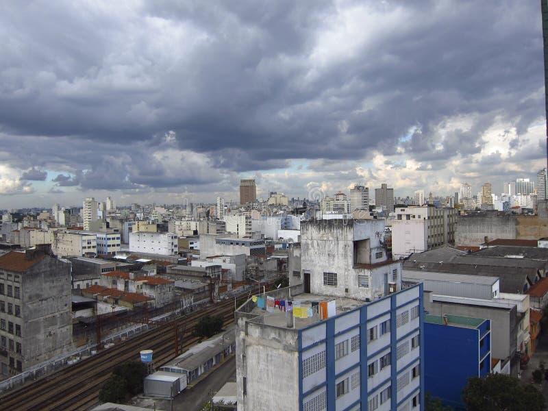 São Paulo Cityline royalty-vrije stock fotografie