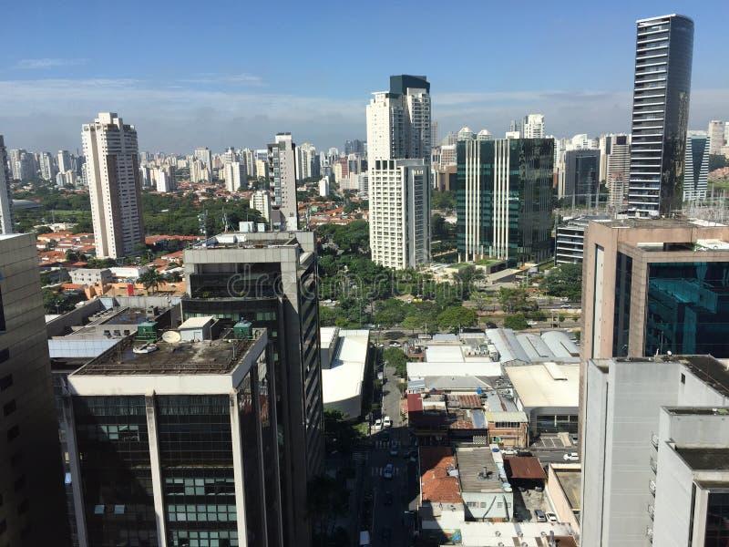 São Paulo, Vila Olimpia zdjęcie stock