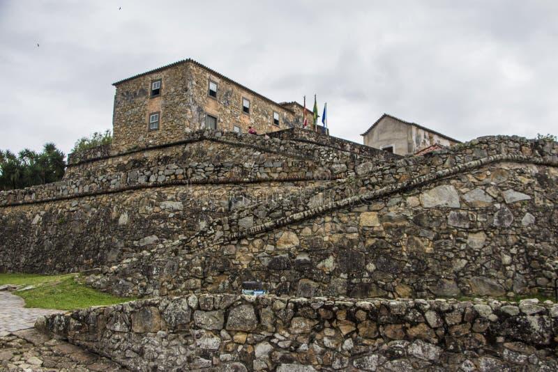 São José da Ponta Grossa Fortress - Florianópolis/SC - le Brésil images stock