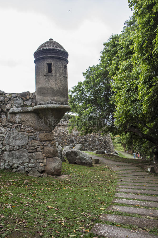 São José Fortress - Florianópolis/SC image stock