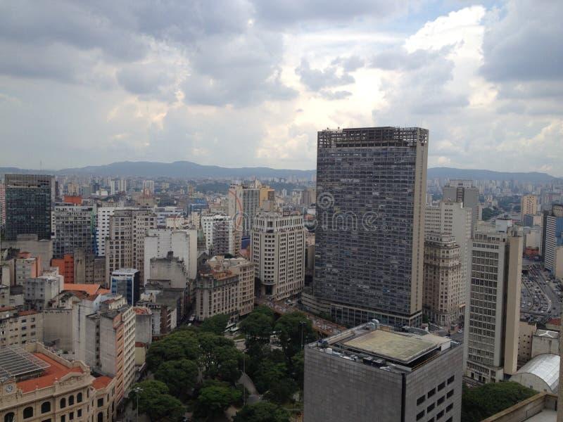 São Paulo Downtown stock image
