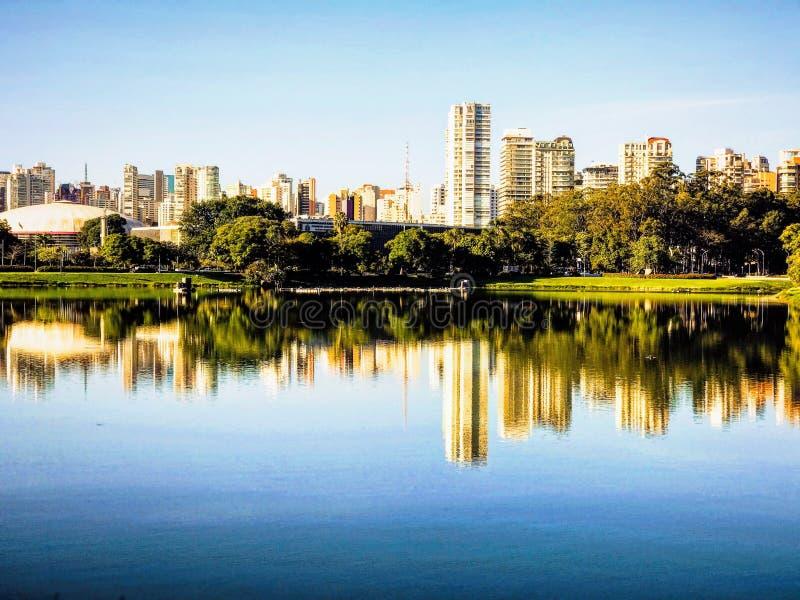 São Paulo Sunset imagens de stock