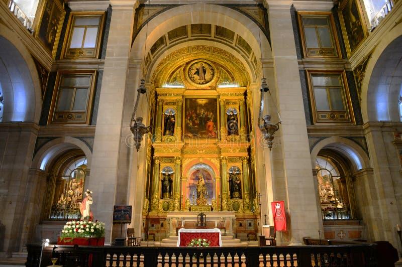 São Roque教会,里斯本,葡萄牙 免版税库存照片