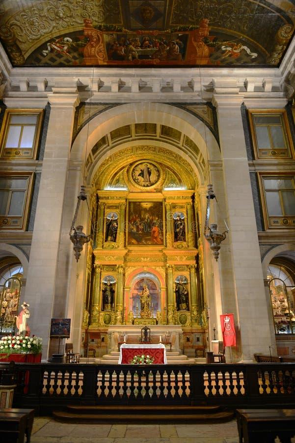 São Roque Church, Lisbonne, Portugal photos libres de droits