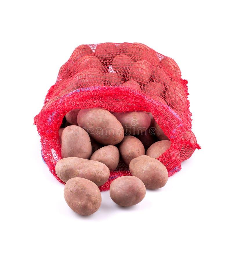 Säck av potatisar arkivfoton