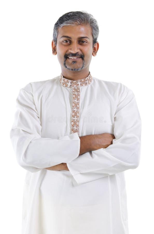 säker indisk man royaltyfri fotografi