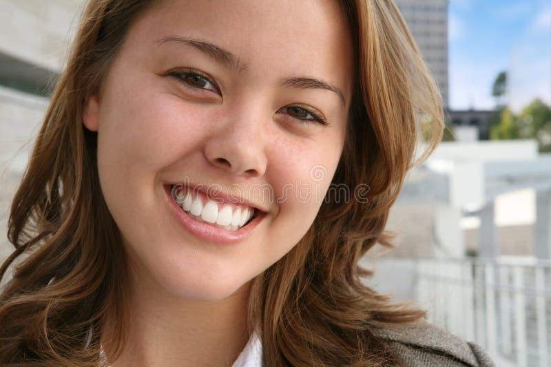 säker kvinna för affär arkivfoton