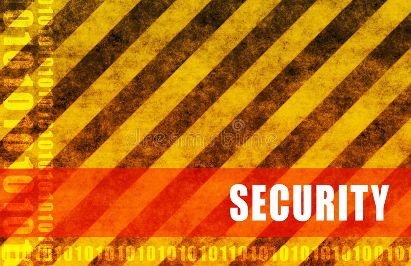 säkerhet vektor illustrationer