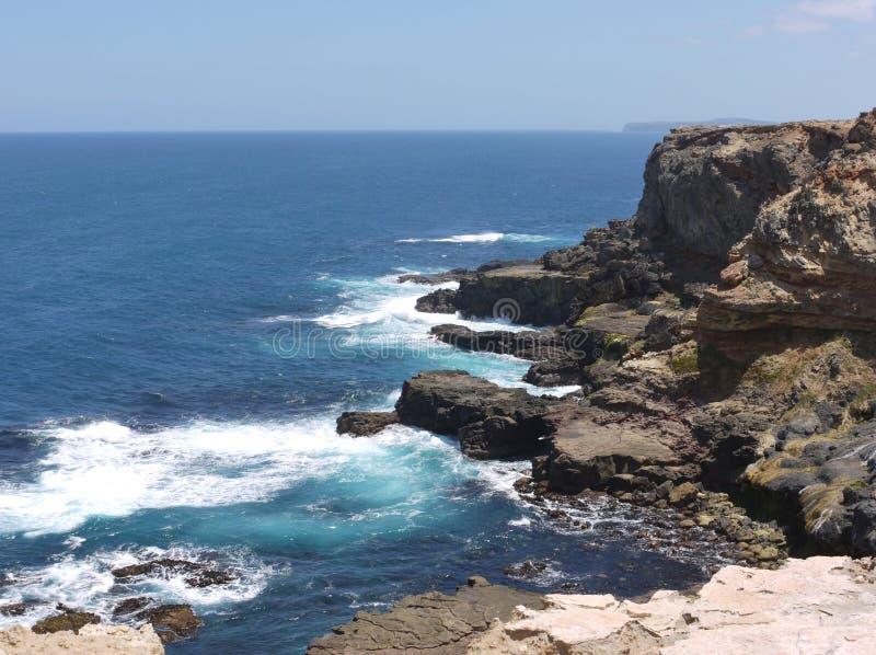 Säkerhetsbrytare på den australiska kusten royaltyfria foton