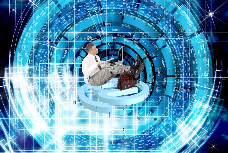Säkerhetsinternetuppkopplingteknologier arkivbilder