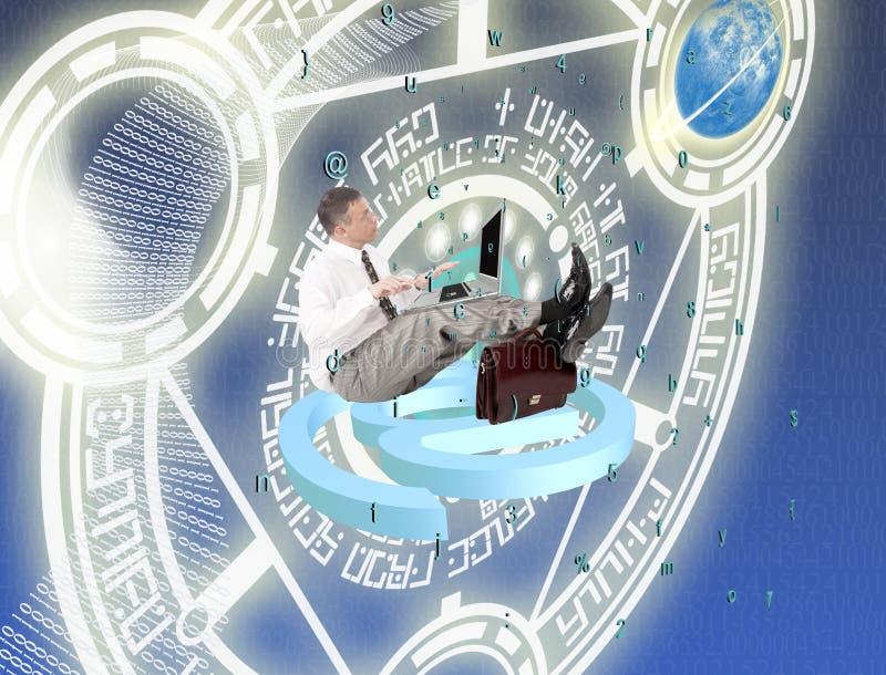Säkerhetsinternetuppkopplingteknologier royaltyfria bilder
