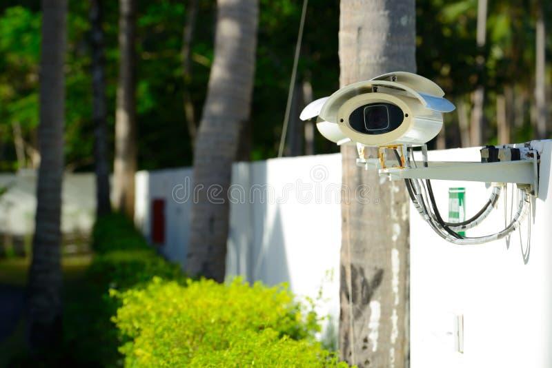 Download Säkerhetskamera fotografering för bildbyråer. Bild av vitt - 27277759