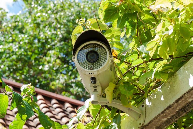 Säkerhetskamera eller CCTV royaltyfri fotografi