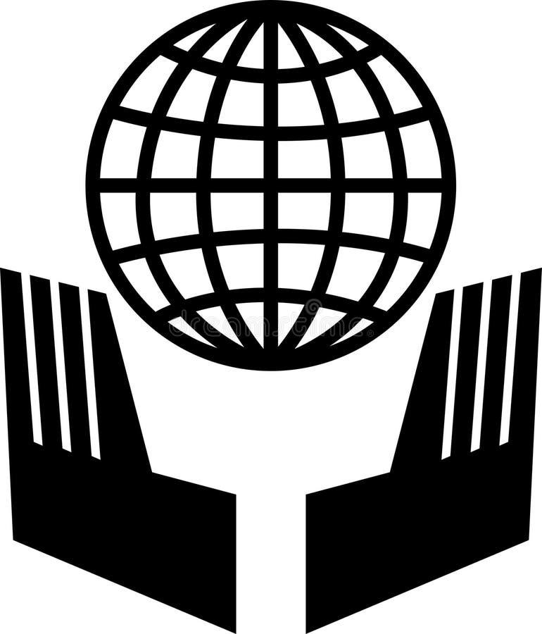 säkerhetsvärld royaltyfri illustrationer