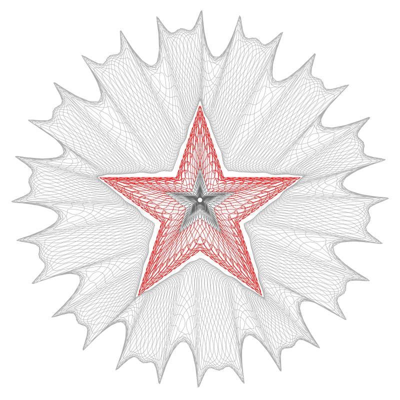 säkra stjärnan stock illustrationer