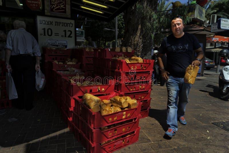 Sälja bröd för fredag arkivbilder