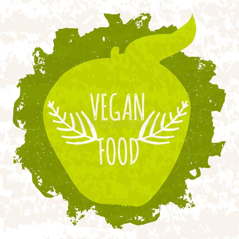 Sälja den färgrika affischen för diversehandel och websites som är förlovade i försäljningen och den vegetariska sunda maten som  stock illustrationer