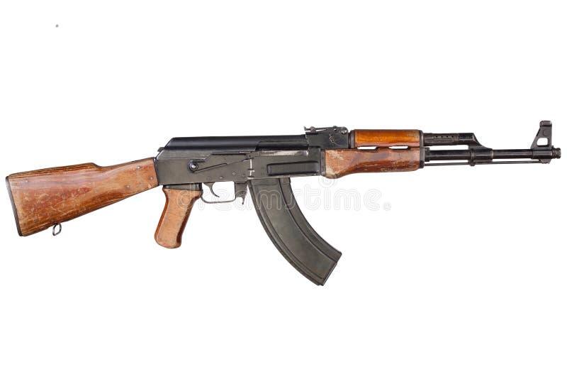 Sällsynt första modell AK - gevär för anfall 47 royaltyfri fotografi