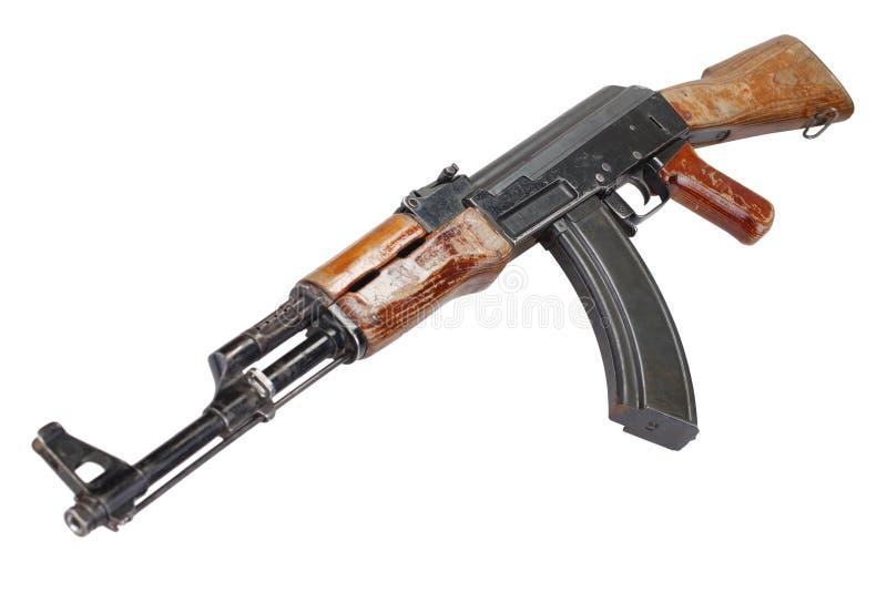 Sällsynt första modell AK - gevär för anfall 47 royaltyfri bild