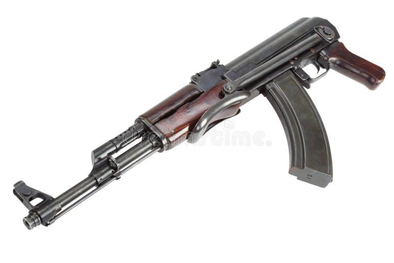 Sällsynt första modell AK - gevär för anfall som 47 isoleras på vit arkivbilder