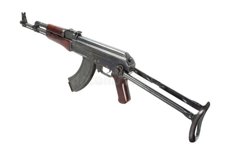 Sällsynt första modell AK - gevär för anfall som 47 isoleras på vit arkivfoton