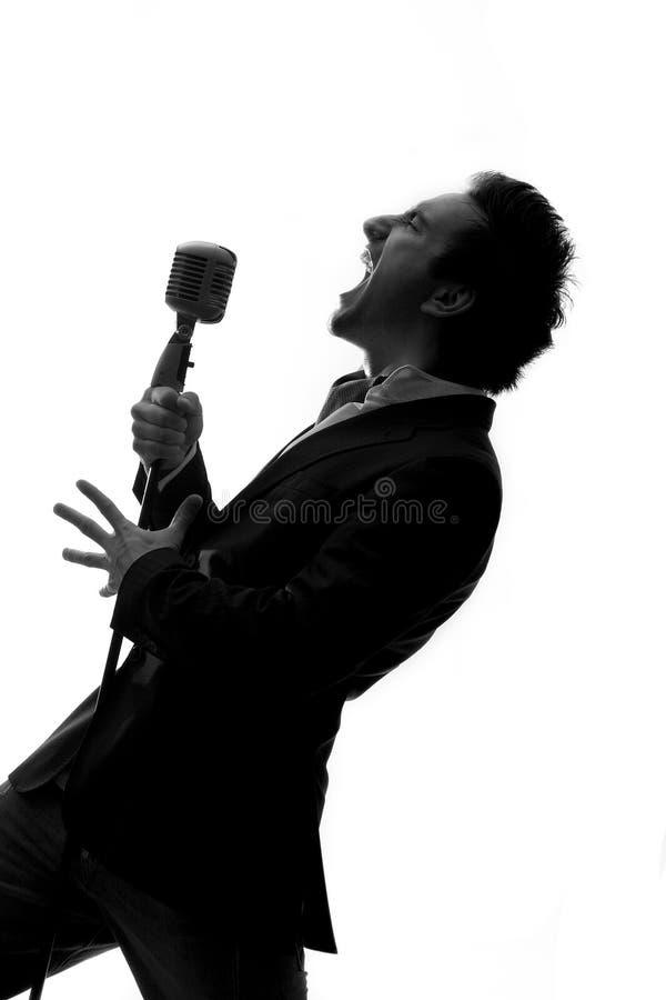 Sänger lizenzfreies stockbild
