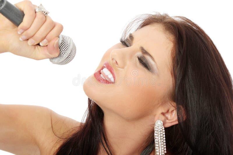 Sänger stockfotos
