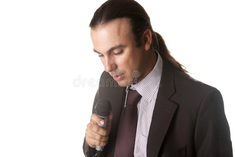 Download Sänger stockbild. Bild von stimme, unterhaltung, musik - 26361401