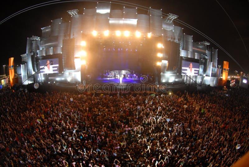 Sänger Stevie Wonder stockbild