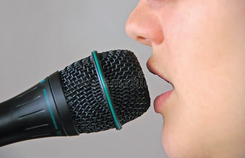 Sängerin Kostenlose Stockfotografie