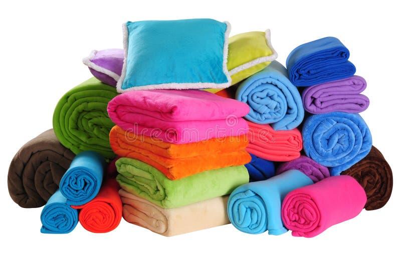 Sängkläderobjekt. arkivbilder
