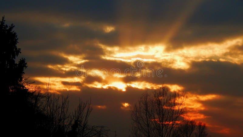 Särskild himmel royaltyfri foto