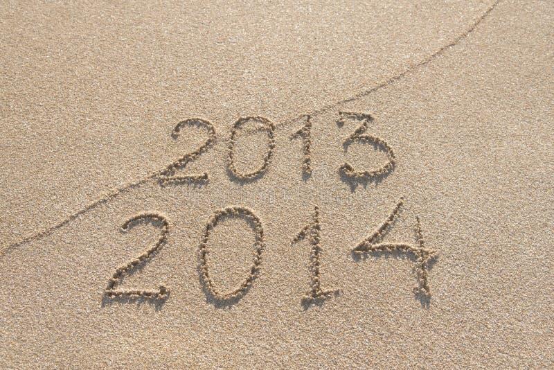 Säsongen för nytt år 2014 är det kommande begreppet arkivfoto