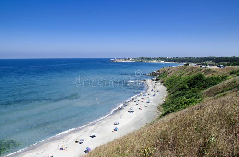 sätta på land Black Sea arkivfoto