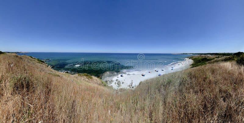 sätta på land Black Sea fotografering för bildbyråer