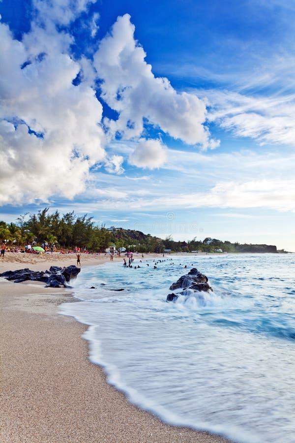 sätta på land den tropiska platsen royaltyfri foto