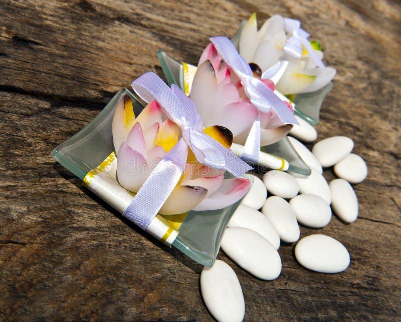 Säubernbevorzugungen und -süßigkeit lizenzfreies stockbild