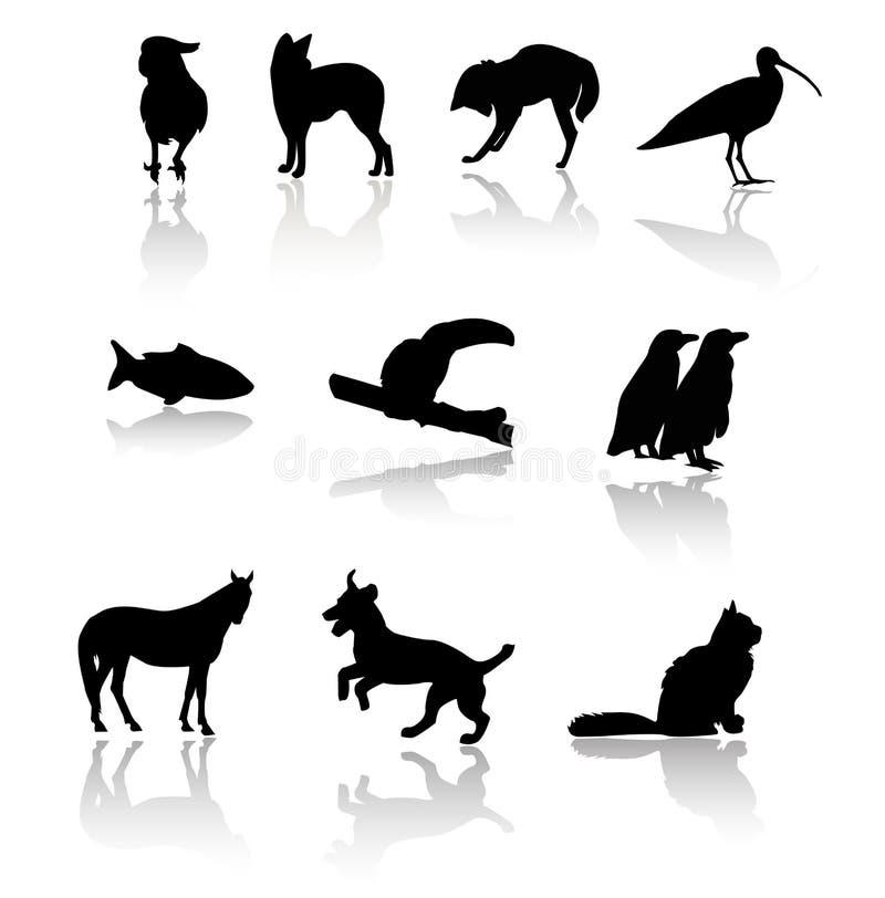 Säugetiere stock abbildung