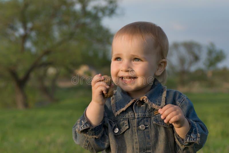 Säuglingsfreude stockfotos