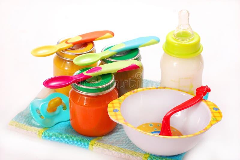 Säuglingsnahrung lizenzfreies stockbild