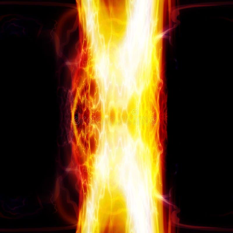 Säule der Flammen lizenzfreie abbildung