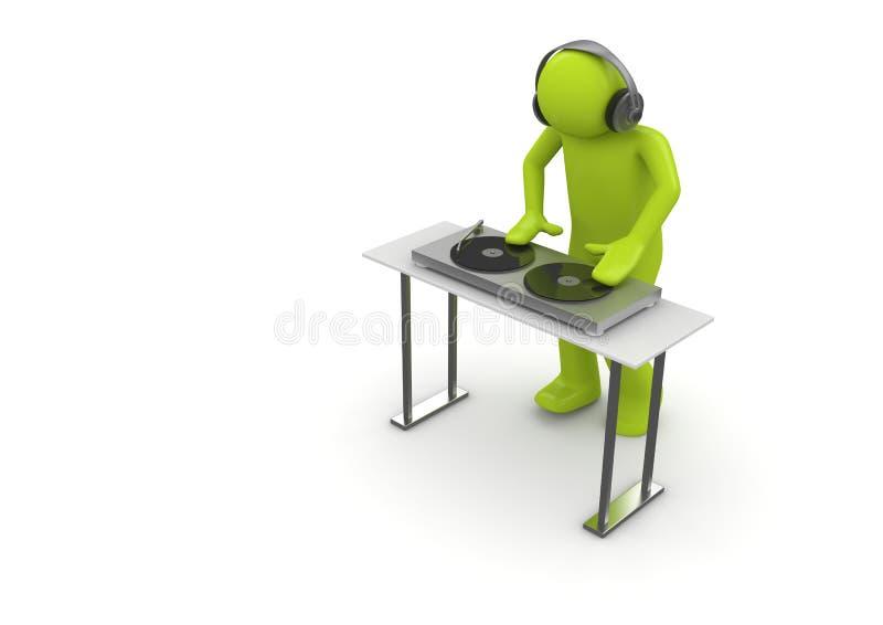 Säure DJ stock abbildung